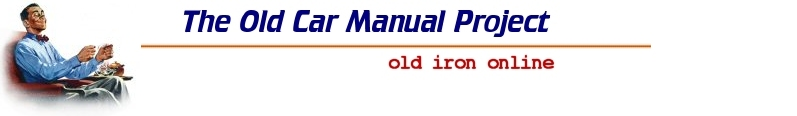 The Old Car Manual Project: Old Iron Online
