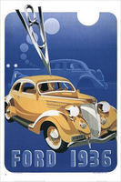 1936 Ford Brochure