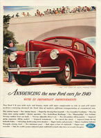 1940 Ford Magazine Ad