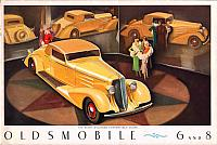 1935 Oldsmobile brochure