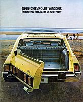 1969 Chevrolet Wagons Brochure