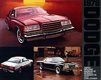 1978 Dodge Full Line Brochure