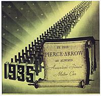1935 Pierce-Arrow Brochure