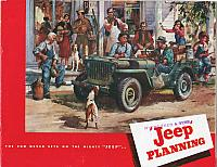 1946 Jeep Planning Brochure