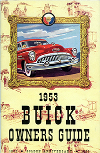1953 Buick Owners Guide