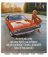 1970 Dodge Newspaper Insert