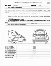 1956 Studebaker Golden Hawk Specifications