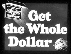 Get the Whole Dollar