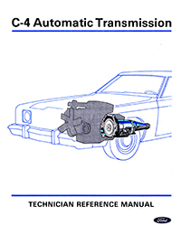 1971 Ford C4 Training Manual