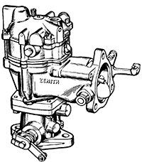 Zenith Carburetor Master List