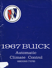1967 Buick Automatic Climate Control