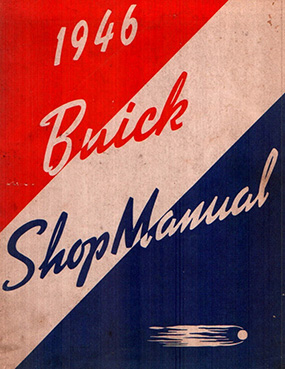 1946 Buick Shop Manual Supplement