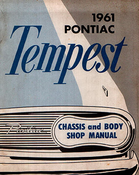 1961 Pontiac Tempest Body and Shop Manual