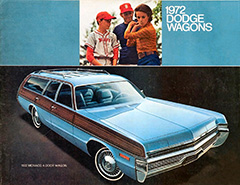 1972 Dodge Wagons Brochure