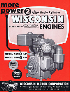 Wisconsin single cylinder engines