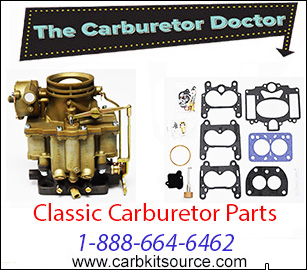 Carburetor Doctor carb kits for classics