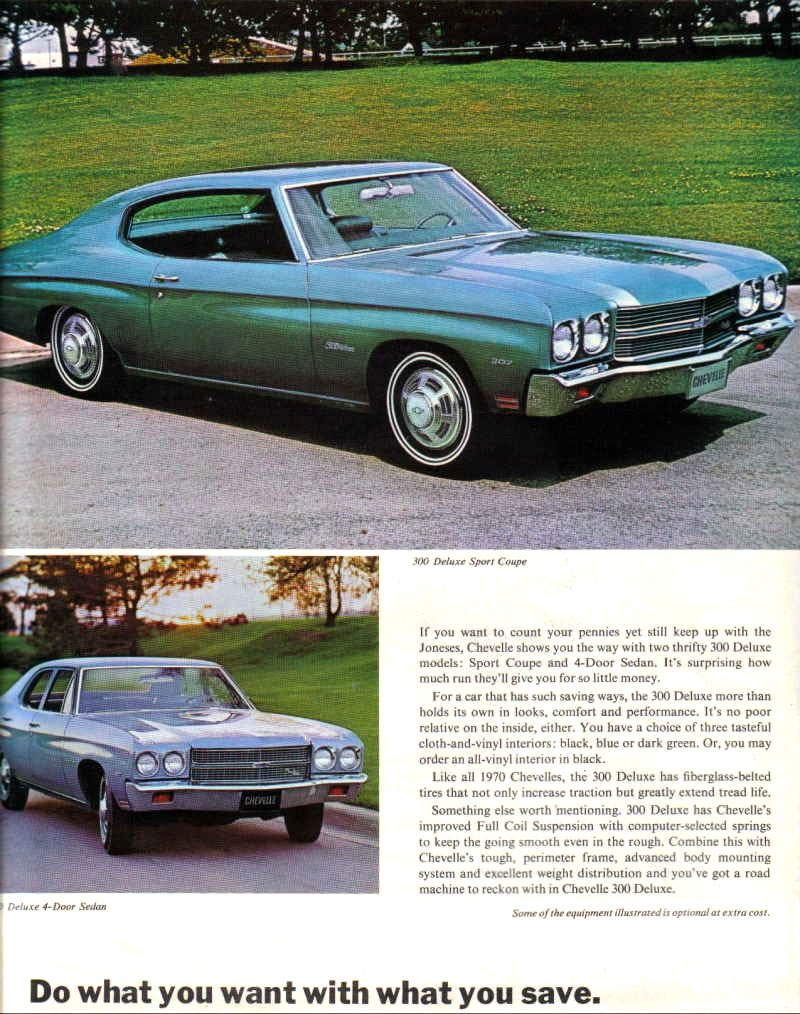 70 Chevelle Project Car http://www.oldcarmanualproject.com/brochures/1970Chevelle/pages/70chevl-008_jpg.htm