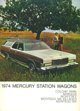 1974 Mercury Wagons