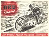 HRD Motorcycle Brochure