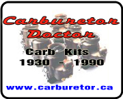 Carburetor Doctor Kits Parts and Restoration