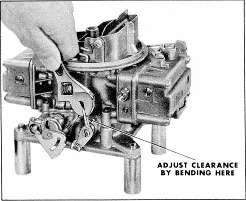 holley carb manual choke adjustment