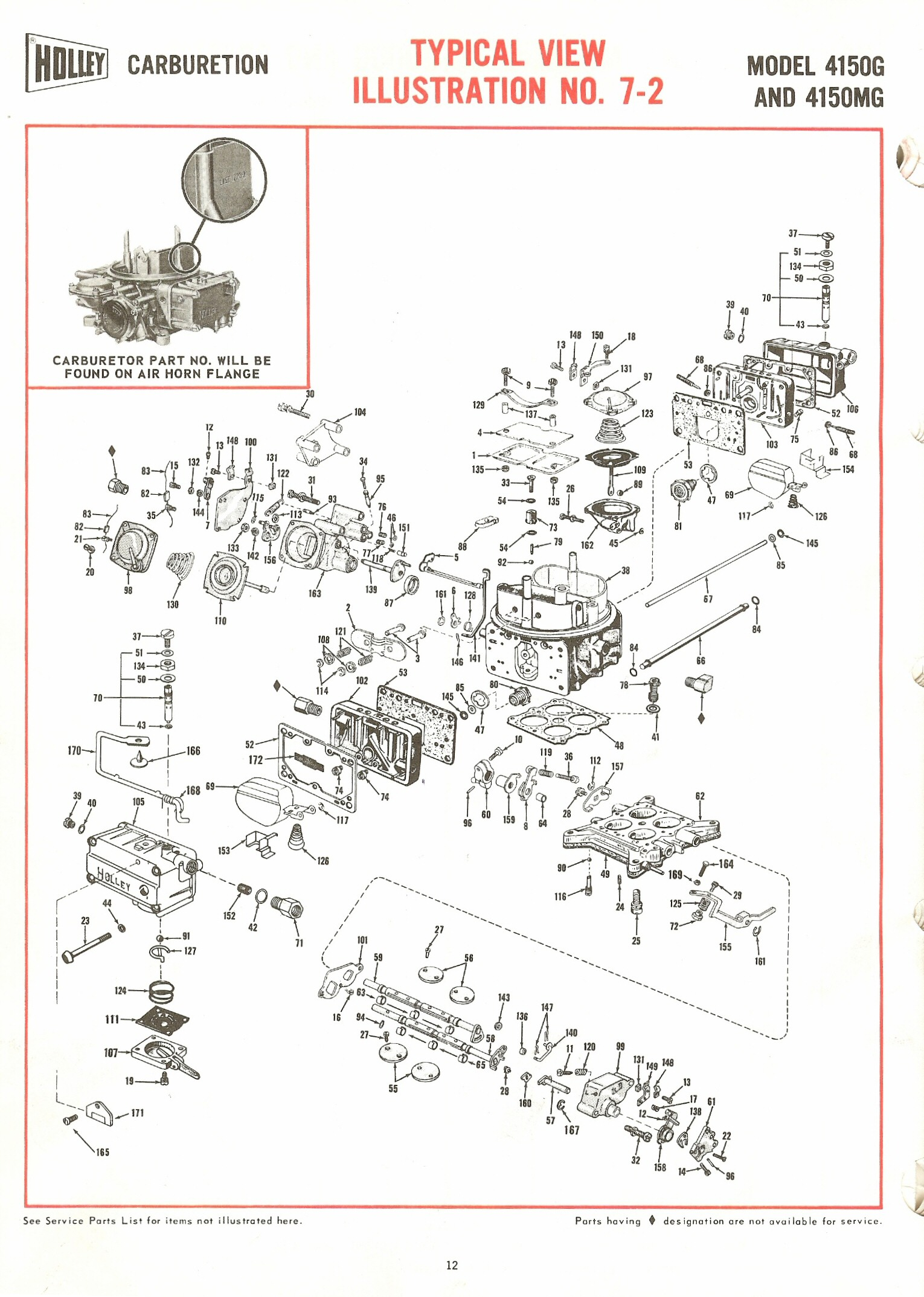 Holley Parts Diagram Manual Guide Wiring 2300 2300g 2300mg Exploded Diagrams The Old Car Street Avenger List Elsalvadorla 4150 5200