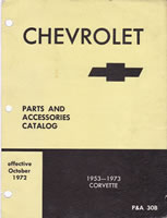 1953-73 Corvette Parts Illustrations