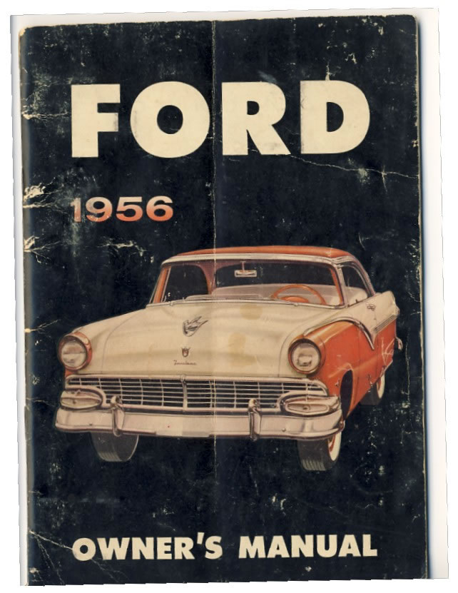 ford owners manual frontcoverjpg