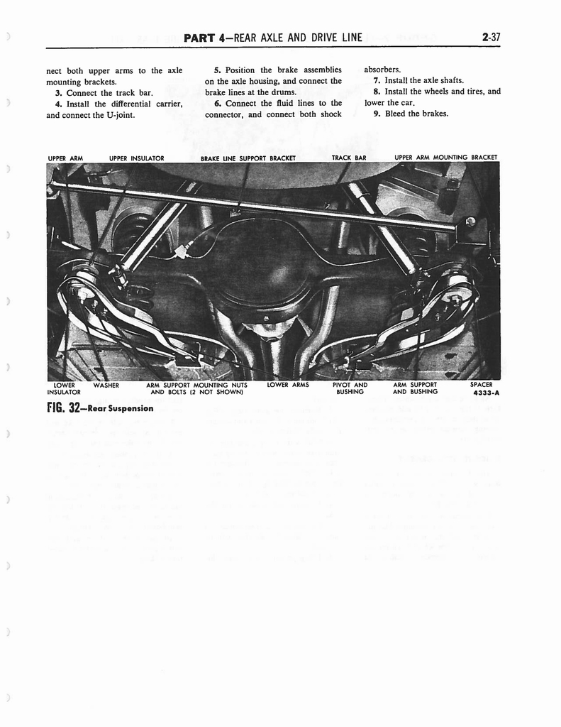1958 Ford Thunderbird Shop Manual Page 123 Of 360