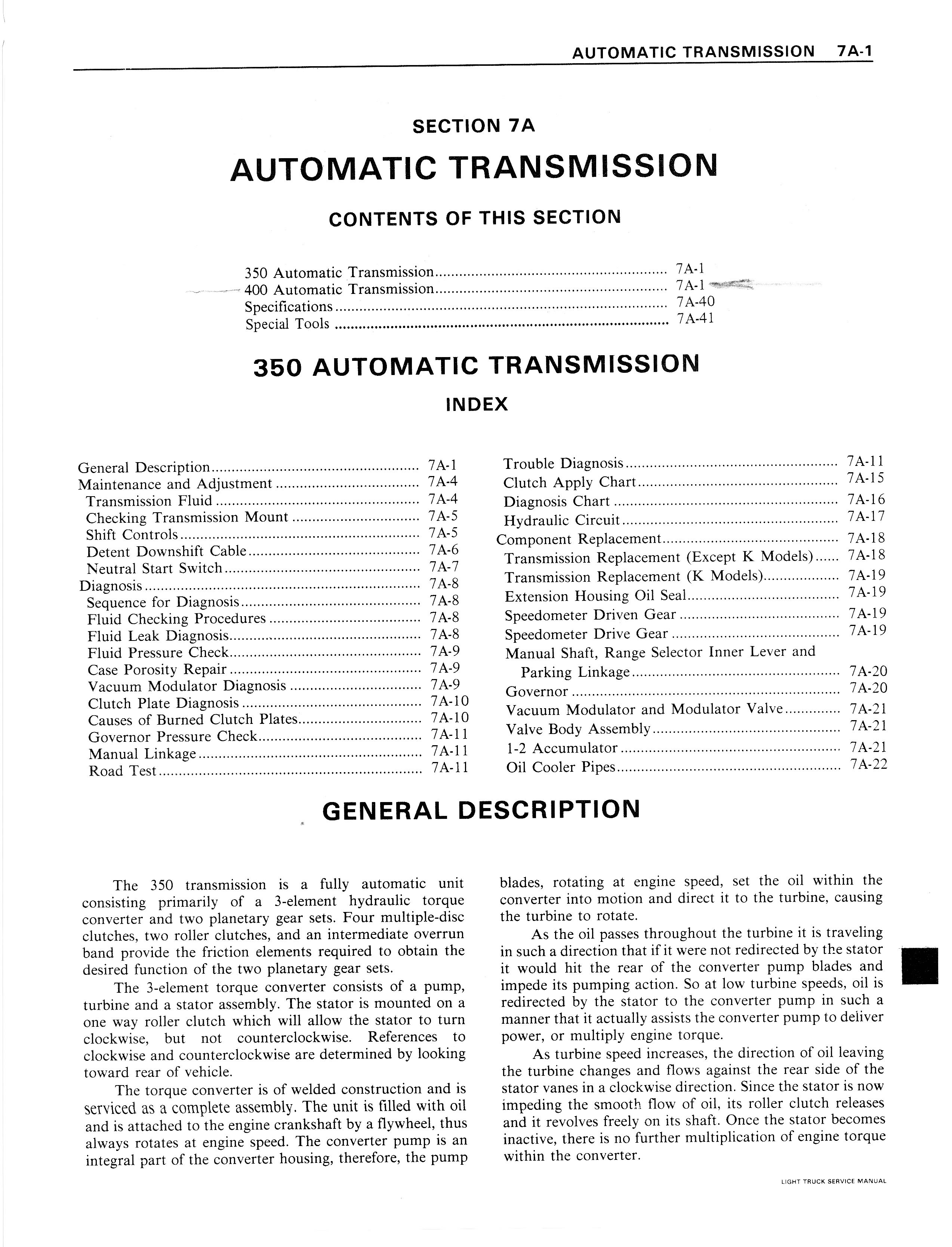 Gmc Owners Manual