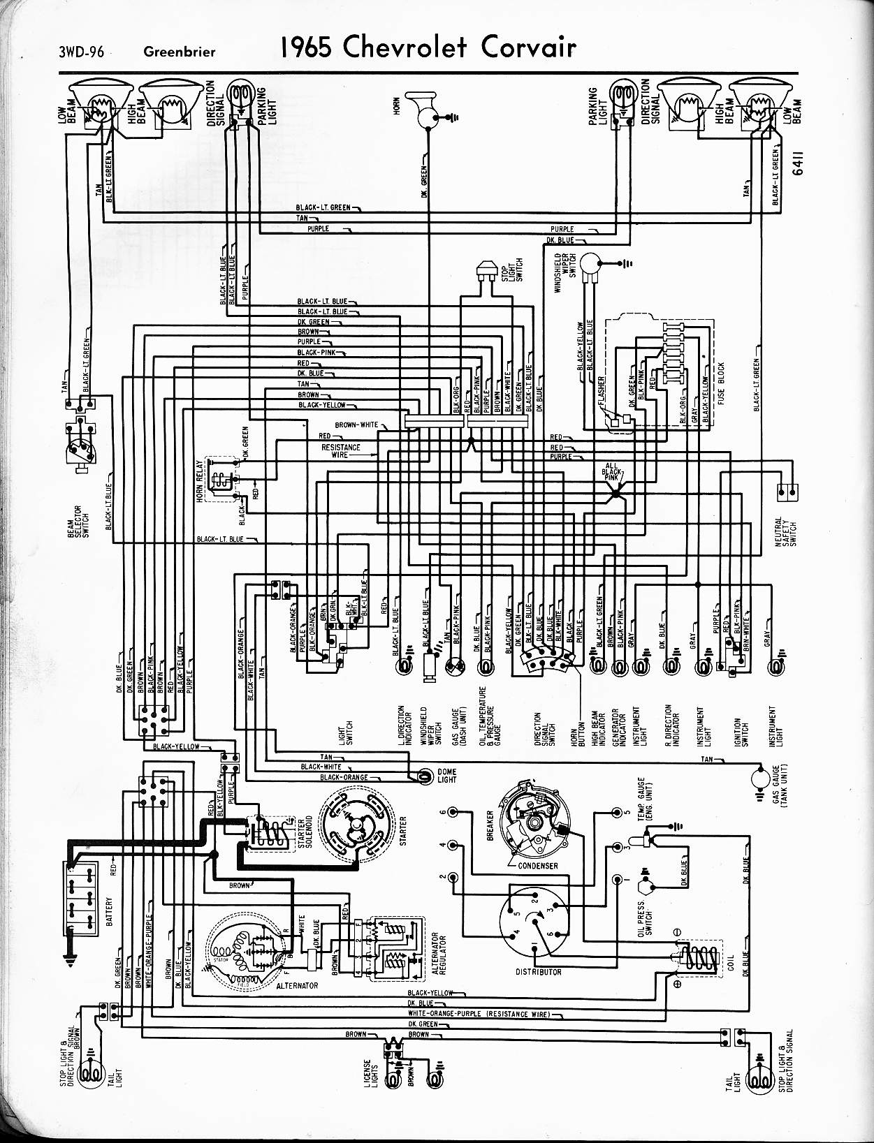 1965 c10 dash wiring diagram