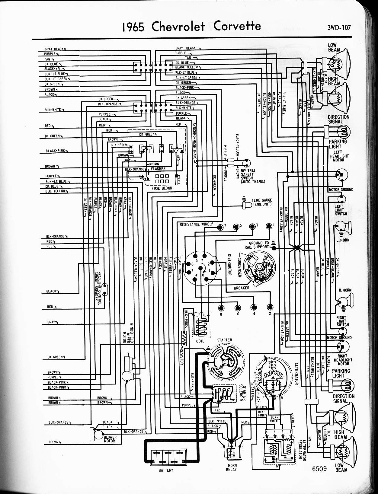 65 gmc truck wiring diagram wiring diagram 1972 corvette the wiring diagram 74 corvette wiring diagram for alternator 74 printable wiring 1965 chevy truck