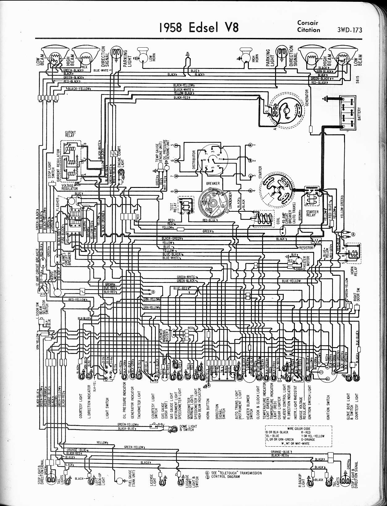 1953 ford car wiring diagram club car wiring diagram pictures #11