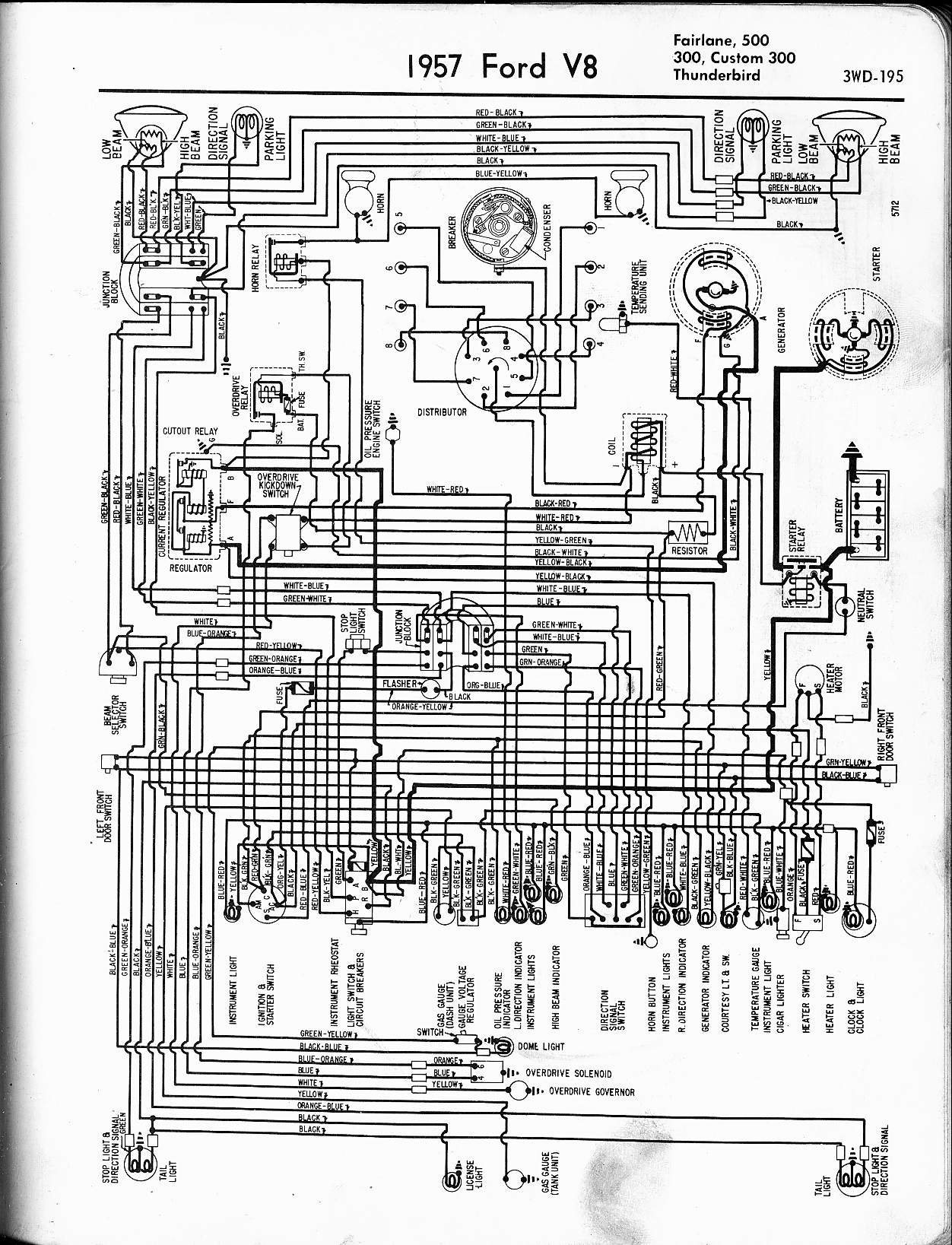 56 Chevy Truck Wiring Diagram For A Library Ford 1956 Automotive Diagrams Chevrolet