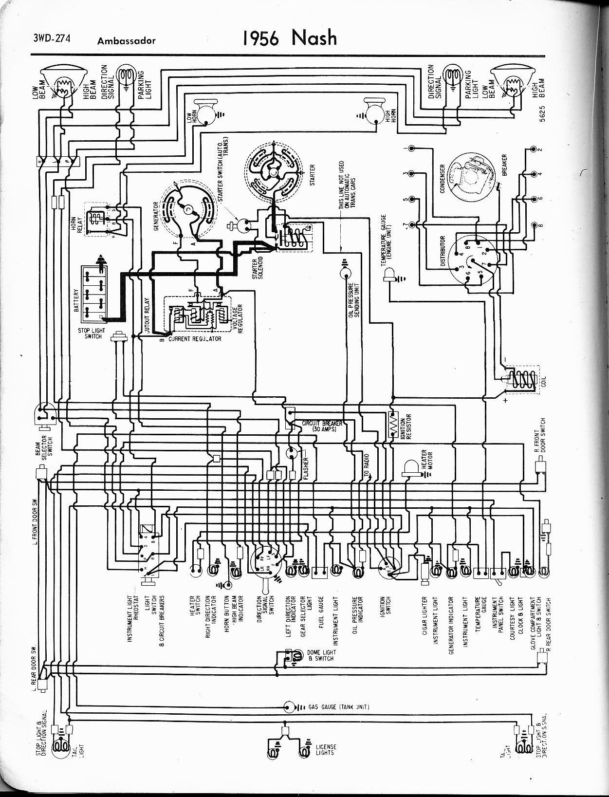 Car Light Wiring Diagrams Multiple Lights Get Free Image About Wipercar Diagram 1957 Nash Metropolitan