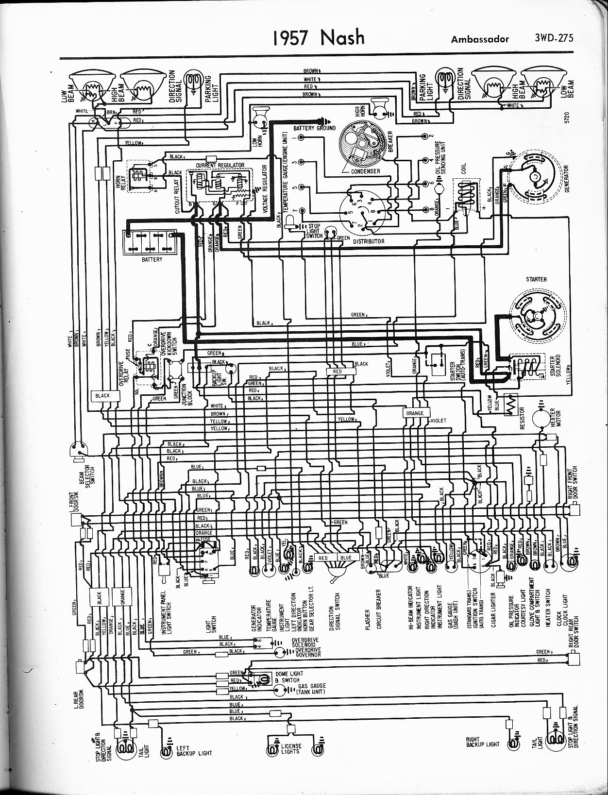 Old Car Wiring Diagram : Old car wiring diagrams diagram images
