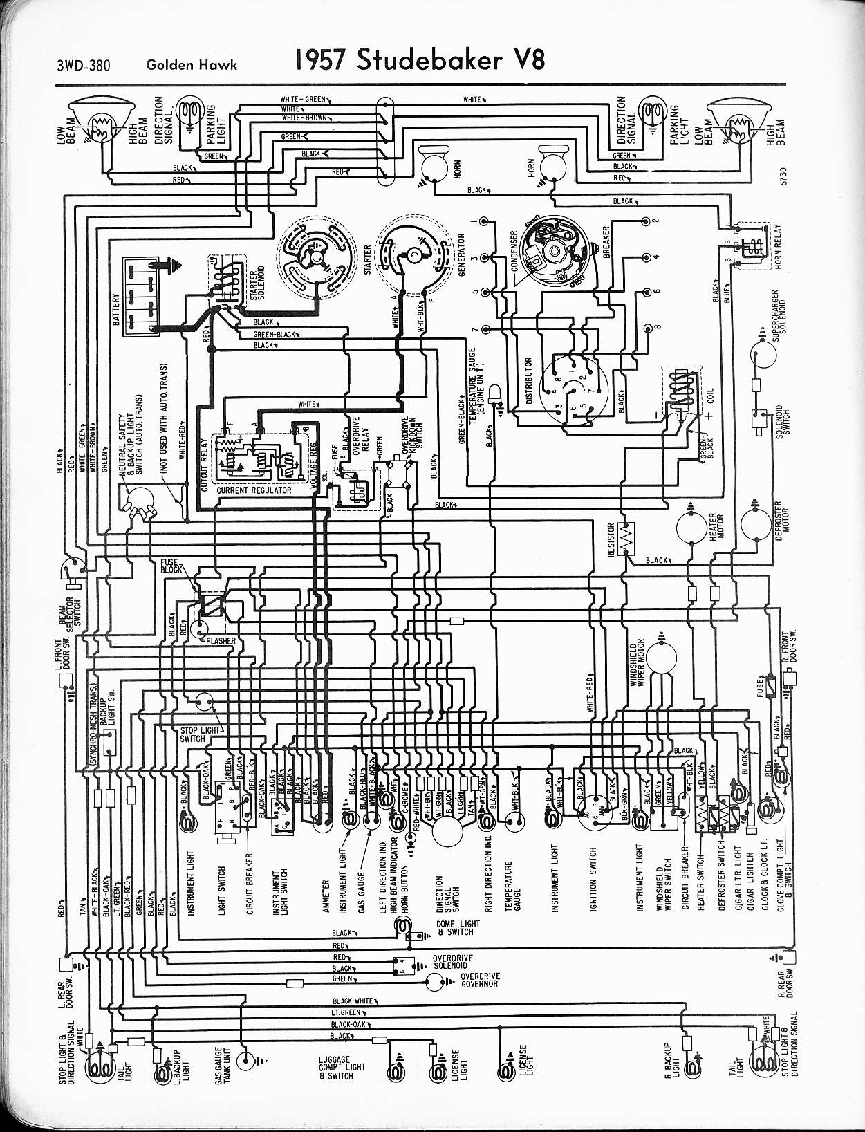 Mwire on 1955 Thunderbird Wiring Diagram