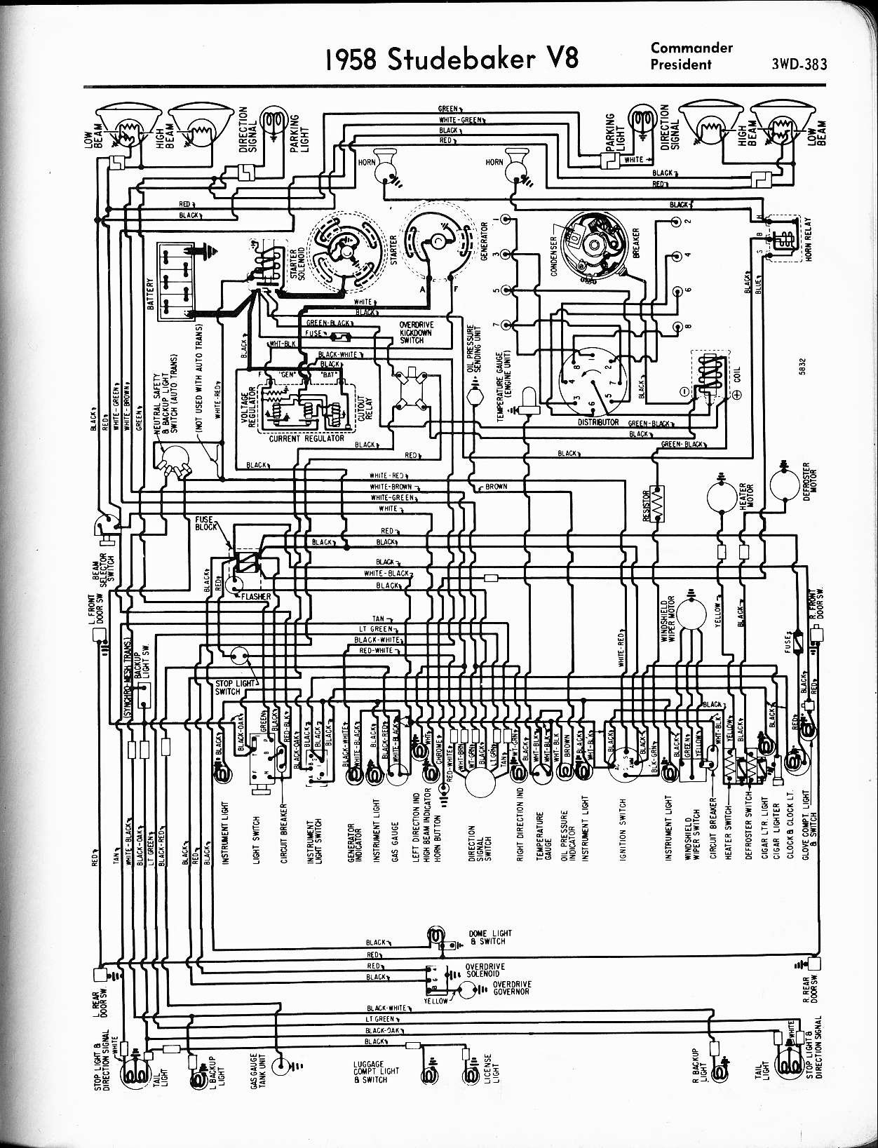 MWire5765 383 studebaker wiring diagrams the old car manual project 1955 studebaker wiring diagram at webbmarketing.co