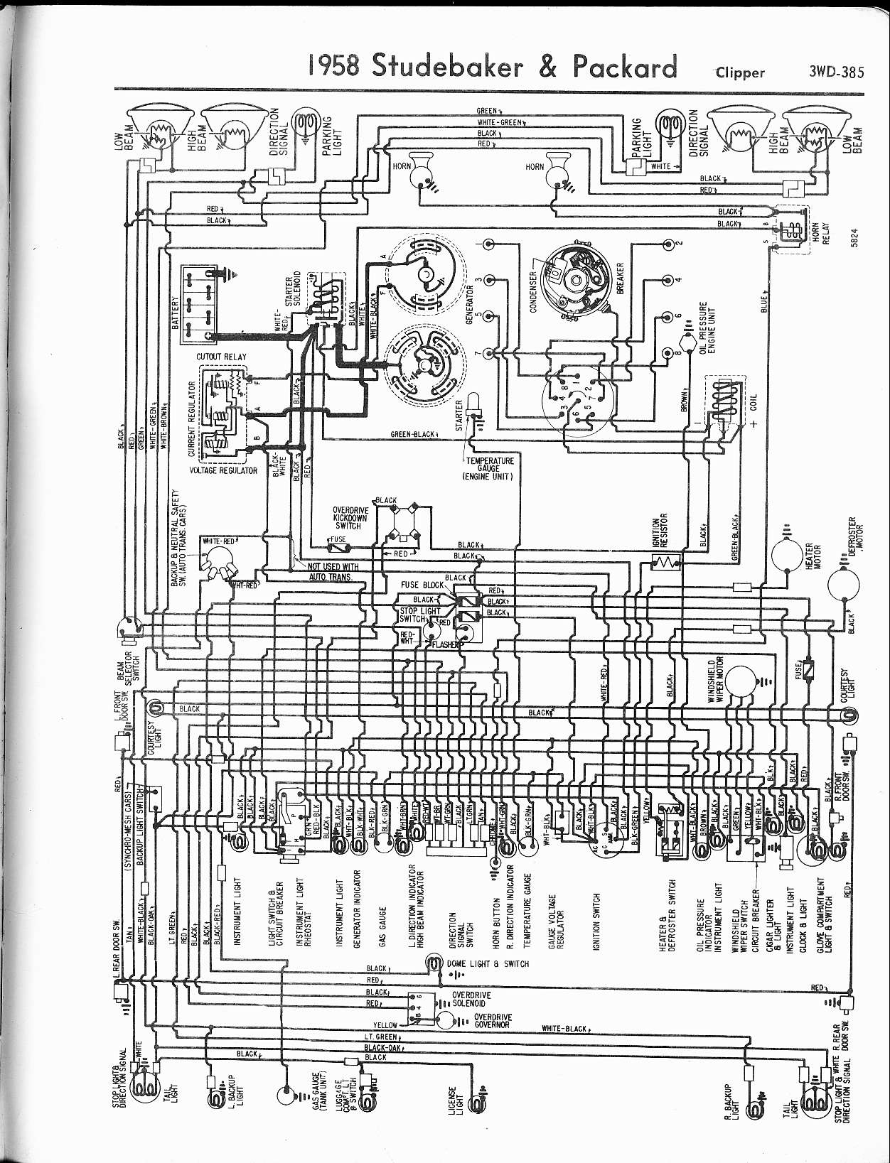 MWire5765 385 studebaker wiring diagrams the old car manual project studebaker wiring diagrams at n-0.co