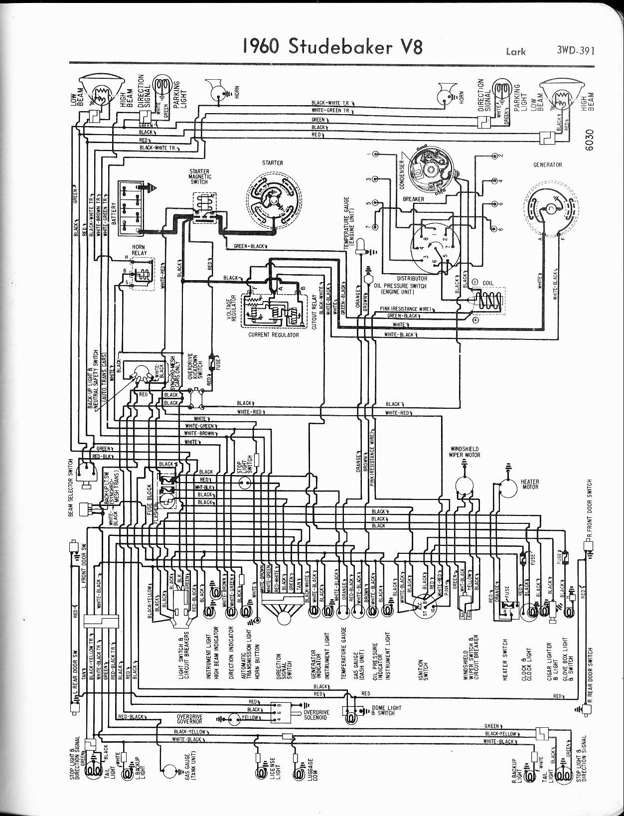 55 studebaker wiring diagram studebaker wiring diagrams - the old car manual project 1951 studebaker wiring diagram